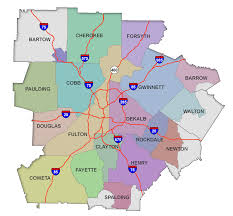 Georgia Counties Map Service Area Map Serving Metro Atlanta Ga U0026 Surrounding 18 Counties