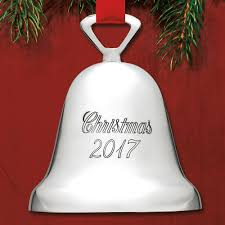 2017 reed u0026 barton silverplate dated bell 329 3 ornament