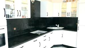 cuisine en carrelage beton cire sur plan de travail carrele plan travail cuisine pour