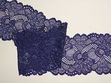 navy blue lace ribbon navy lace trimmings ebay