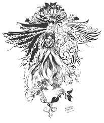 floral tatoo by komatsu takumi on deviantart