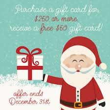 purchase gift card countdown to christmas day 1 purchase a gift card for 250 or