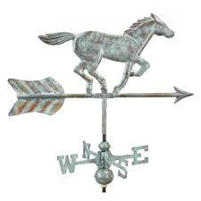Airplane Weathervane Good Directions Marlin Weathervane Pure Copper 969p The Home Depot