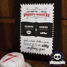 Photo Booth Sign Diy Printable Photobooth Sign On Deadly Nightshade