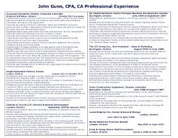 sample resume for cpa bank accountant resume template free