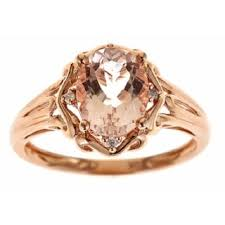 gold and morganite ring morganite rings shop the best deals for nov 2017 overstock