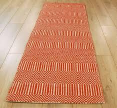 Modern Runner Rugs Orange Runner Rug Rugs For Hallway With Regard To 10