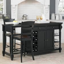 kitchen island set darby home co cleanhill 3 kitchen island set reviews wayfair