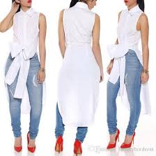 white flowy blouse 2018 2016 fashion autumn fall blouse shirt sleeveless