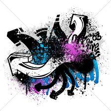 graffiti design aple graffiti mural colorful graffiti design stock photo