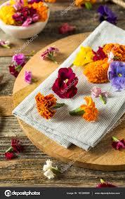 organic edible flowers organic edible flowers stock photo bhofack2 151288806