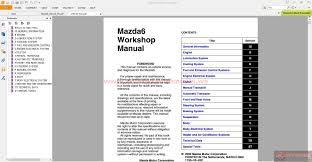 keygen autorepairmanuals ws mazda 6 full workshop manual inc