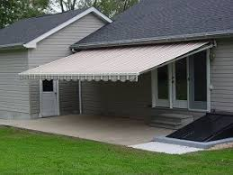House Awnings Retractable Canada Retractable Patio Awning An Affordable Shade Product