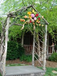 wedding arches made of tree branches guest project throw a rustic wedding make a diy tree cupcake
