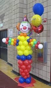 clown balloon balloon decor of central california home