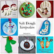salt dough keepsakes