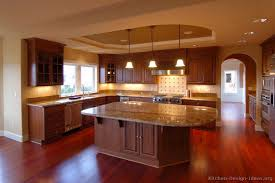 awesome kitchen with cherry cabinets taste