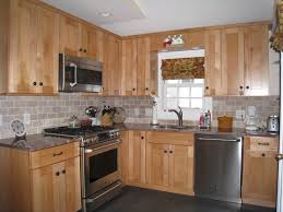 Kitchen With Maple Cabinets Cabinets U0026 Drawer Unfinished Kitchen Cabinet Bathroom Wall