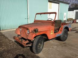 orange jeep cj 1952 willys m38a1 jeep orange 2 for sale 4200 midwest