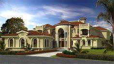 mediterranean villa house plans the back side of mediterranean luxury house plan 32128aa a plan we