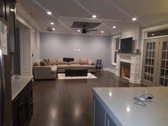 kitchen two toned cabinets grey and java with sherwin williams