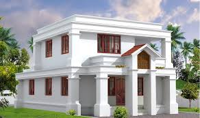 Kerala Home Design 3000 Sq Ft Beautiful Flat Roof Kerala Home Design 2014