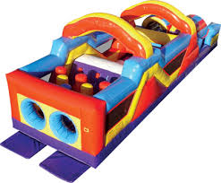 Backyard Inflatables Inflatable Obstacle Course Rentals