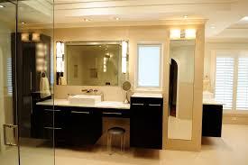 Makeup Bathroom Storage Vanity With Makeup Area Bathroom Contemporary With Bathroom