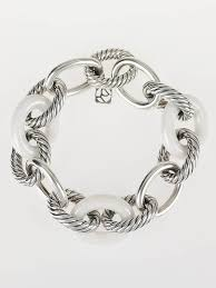 white ceramic bracelet images David yurman sterling silver and white ceramic oval extra large jpg