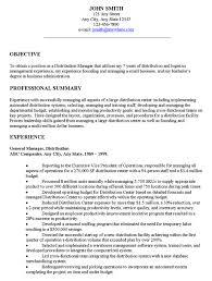 sample objective for resume berathen com