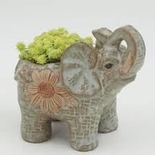 online buy wholesale ceramic elephant planter from china ceramic