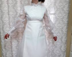 wedding dress etsy 1960s wedding dress etsy