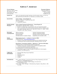 Best Resume Templates For College Students by Best Resume Format For Engineering Students Resume For Your Job