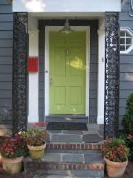 green front door colors images about front doors on red brick pinterest houses and door