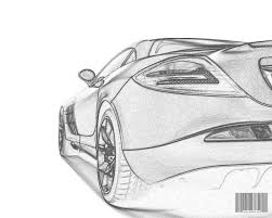 automobiles car sketch drawing and designing