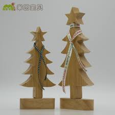 new coming solid wood christmas tree home decor creative european