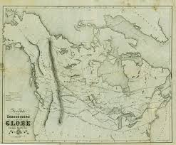 Northern Canada Map Map Printed Of Canada And The Northern United States