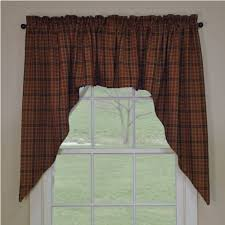 Primitive Swag Curtains Country Swag Curtains Primitive Spice Swags 72 X 36