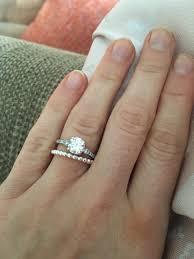 stackable wedding rings wedding rings slip wedding bands stackable wedding
