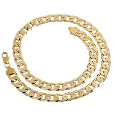 long necklace chain wholesale images Gold color twisted singapore chain 24inch 7mm gold color necklace jpg