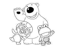 pororo coloring sheet for kids coloring pages for kids on