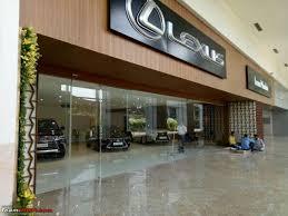 lexus used mumbai lexus india inaugurates its dealership in mumbai