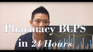 pharmacy bcps certification 24 hours studying my office youtube