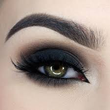 obsessed with this dark dramatic smokey eye by miaumauve to get the look