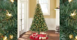 walmart pre lit 6 5 u0027 madison pine artificial christmas tree 39