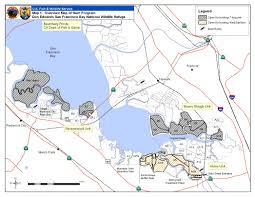 Sf Bay Map Don Edwards San Francisco Bay National Wildlife Refuge Legal