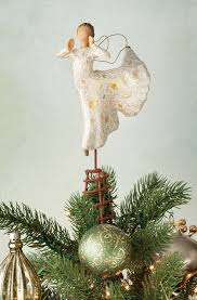song of joy tree topper willow tree