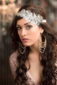 1920 hair accessories roaring 20s flapper headband silver gatsby headpiece 1920s hair