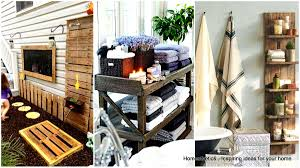 Pallet Bathroom Vanity by 27 Beautiful Diy Bathroom Pallet Projects For A Rustic Feel
