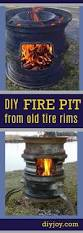 old tire rims make for the best diy fire pits diy fire pit